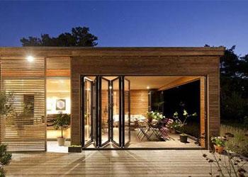 Maison contemporaine bois : maison ossature bois